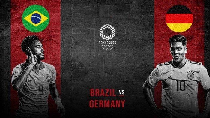 Olimpiade Tokyo 2020 - Prediksi Skor Brasil vs Jerman dan Perkiraan Susunan Pemain