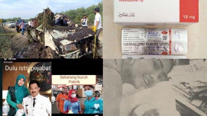 BERITA POPULER – Tengkorak dalam Pickup, Efek Samping Ivermectin, dari Istri Pejabat Jadi Buruh