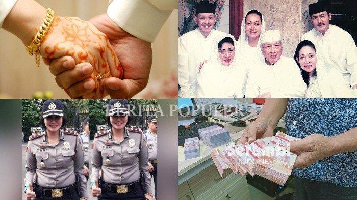 BERITA POPULER- Kepala Dinas Nikah Siri dengan Bawahan, Trik Soeharto Hadapi KKB hingga THR PNS Cair