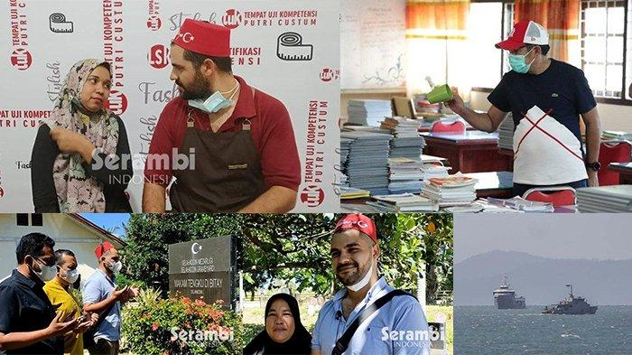 BERITA POPULER - Kisah Pria Turki Jemput Jodoh Ke Aceh Hingga Kapal Rusia Masuk Aceh Tanpa Izin