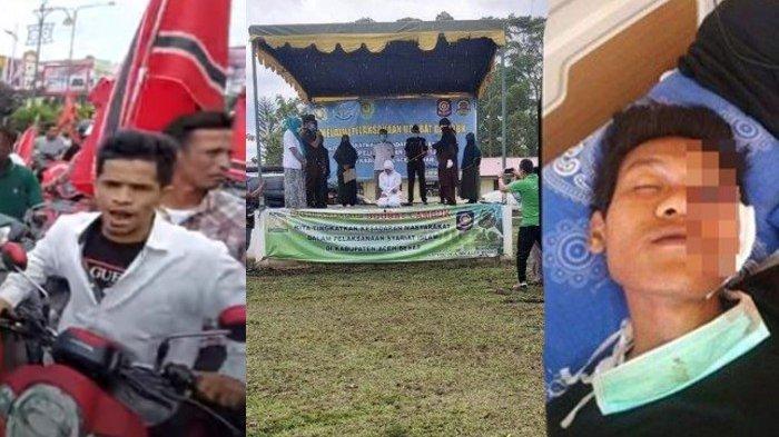 BERITA POPULER - Mahasiswa Kedokteran Dicambuk, Konvoi Bendera Bintang Bulan hingga Kakek Bunuh Cucu