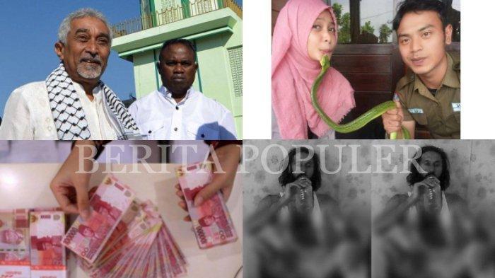 BERITA POPULER - Mantan PM Timor Leste Puji RI, Daftar Gaji PNS 2021, Wajah Wanita Digigit Ular