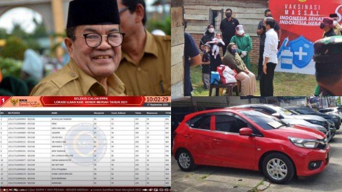 BERITA POPULER - Rumah Ibu 3 Anak Didatangi Jokowi, Daftar Mobil Bekas, hingga Live Score BKN Aceh