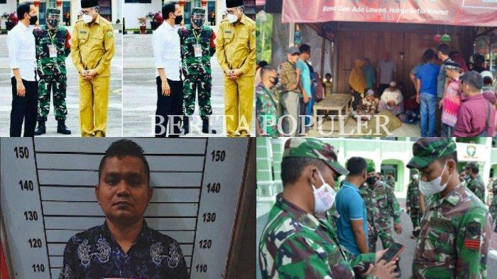 BERITA POPULER Sikap Nova Depan Jokowi Viral, Warga Tamiang Diikat sampai HP Personel TNI Diperiksa