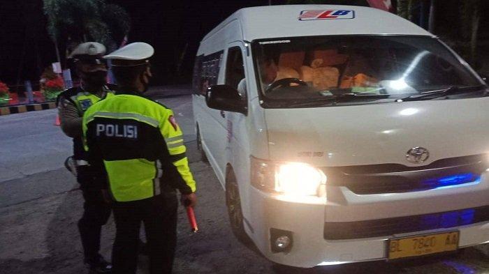 Hari Ketiga Penyekatan Perbatasan, Mobilitas Kendaraan di Perbatasan Aceh dan Sumut Mulai Menurun