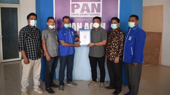 Berkas Pendaftaran Calon Ketua DPD Diserahkan ke PAN Aceh