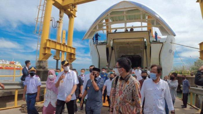 KMP Aceh Hebat 1 Tiba, Kapal Terbesar yang Didesain Khusus untuk Mengaruhi Samudra