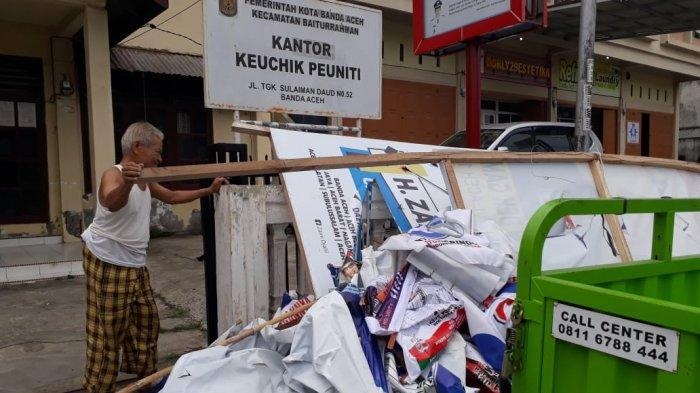 Kasatpol PP Banda Aceh: Seharusnya Parpol dan Caleg Bersihkan Sendiri APK