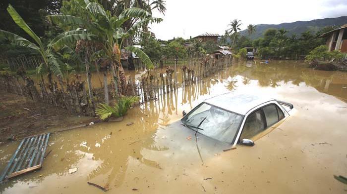 Belasan Gampong Terendam Banjir Serambi Indonesia