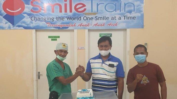 Pasien Bibir Sumbing Mulai Usia 3 Bulan Sampai 20 Tahun Sukses Dioperasi dalam Rangka HUT Serambi