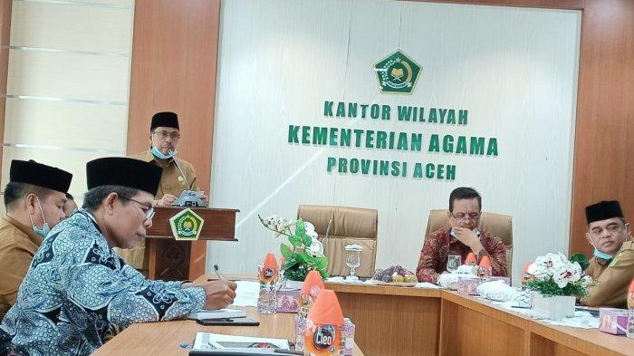 Kakanwil Kemenag Aceh Launching Bimbel UTBK SBMPTN 2021 ...