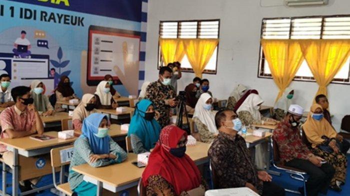 Bimbel Online Medco untuk 250 Siswa Selasai, Diharap Mampu Mengejar Ketertinggalan Akibat Covid 19