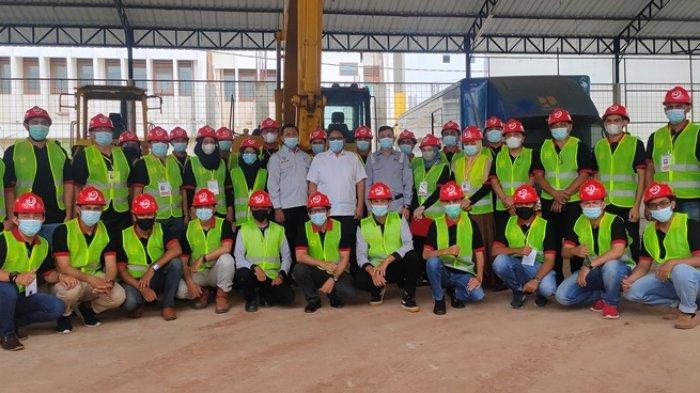 43 Petugas Rampungkan Pelatihan Manajemen Keselamatan Konstruksi di Balai Jasa Konstruksi