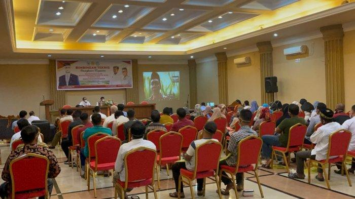 TA Khalid Buka Bimtek Penguatan Kapasitas Terhadap 100 Petani dan Penyuluh di Langsa