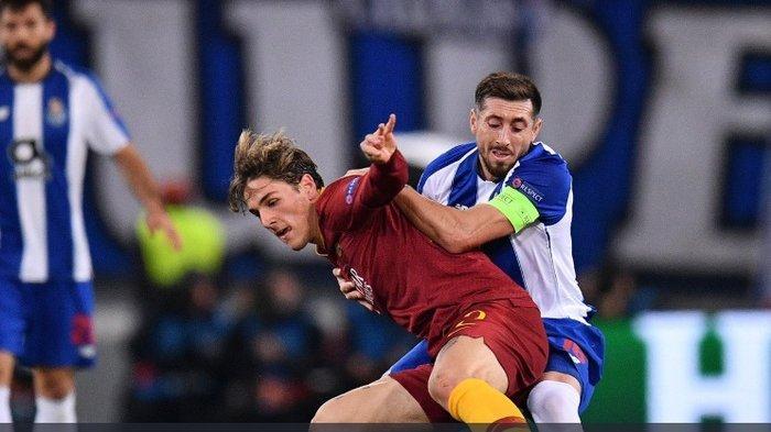 Hasil Liga Champions - 2 Gol Nicolo Zaniolo Bawa AS Roma Taklukkan FC Porto, Rekor Pemain Muda