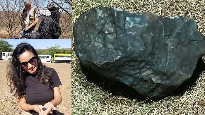 Bisa Kaya Mendadak, Warga Ramai Mencari Meteorit untuk Dijual, Harga Tidak Kalah dari Berlian