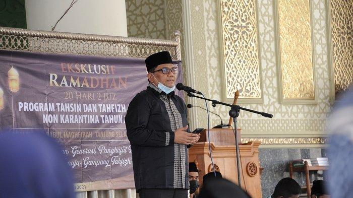 72 Peserta Ikuti Program Tahfiz Quran Non Karantina Digagas BKM Babul Maghfirah Desa Tanjung Selamat