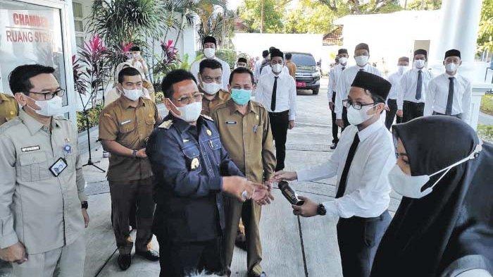 188 CPNS Kota Banda Aceh Terima SK,Wali Kota: Menjadi Amunisi Meningkatkan Kinerja Pemko