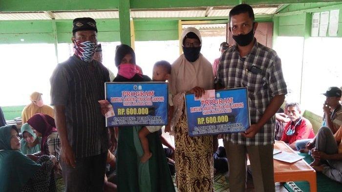 Desa Pertamina di Aceh Timur Salurkan BLTDG Tahap III