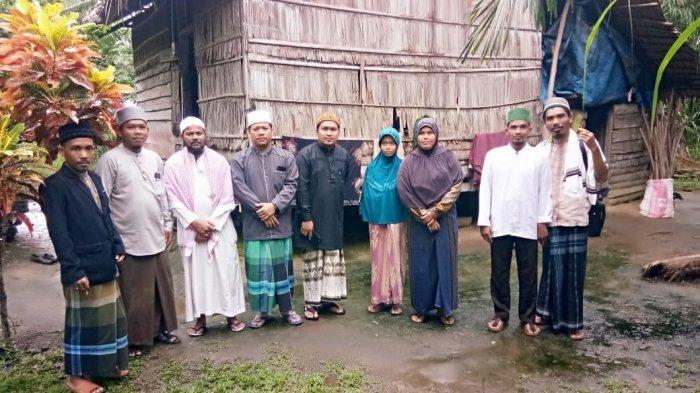 BMU Pusat dan Aceh Timur Akan Bangun Rumah Tak Layak Huni Milik Hanifah di Aceh Timur