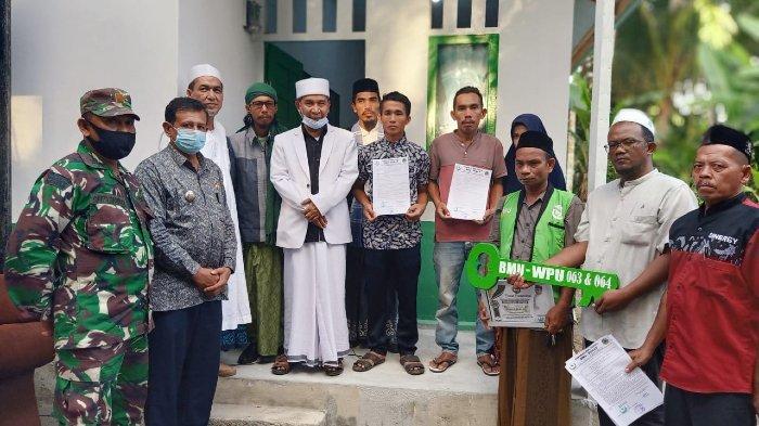 Serahkan Dua Rumah Dhuafa di Aceh Selatan, Tu Sop: Masyarakat Aceh Itu Seperti Kayu Gaharu