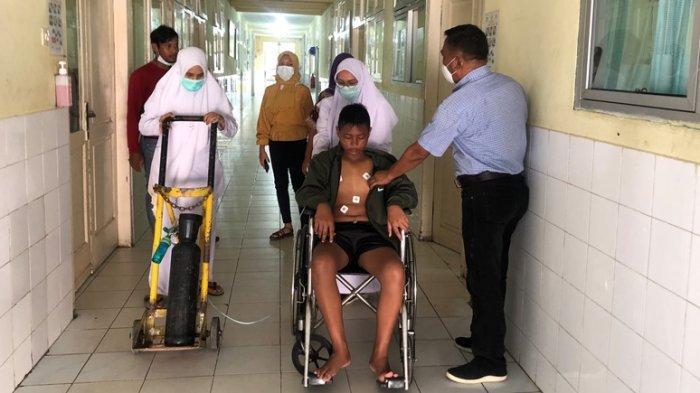 Begini Kondisi Bocah yang Pingsan karena Tenggelam di Pantai Bantayan, Setelah 6 Hari di RSUCM