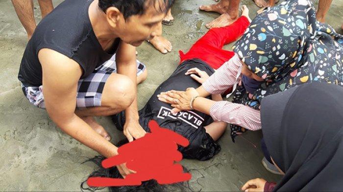 BREAKING NEWS: Dua Bocah Terseret Arus di Pantai Riting Leupung