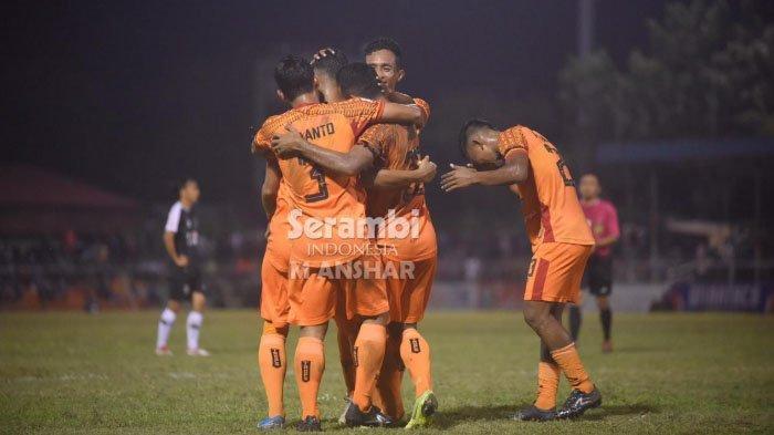 Babak Pertama, Andre Abubakar Bawa Persiraja  Unggul 1-0 atas PSGC Ciamis