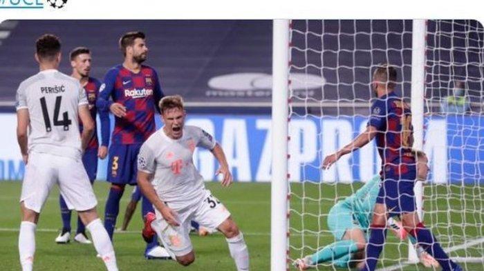 Hasil Liga Champions - Olympique Lyon Hadapi Bayern Muenchen di Semifinal