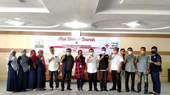 BPBA Kumpulkan Darah 29 Kantong, Kalak Berharap Jadi Agenda Rutin