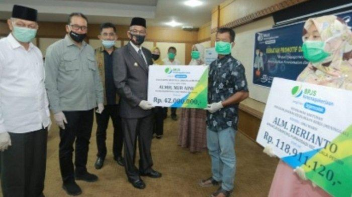 11.840 Rekening Aparatur Desa di Nagan Raya Diteruskan ke BPJS,untuk Cairkan Subsidi Gaji