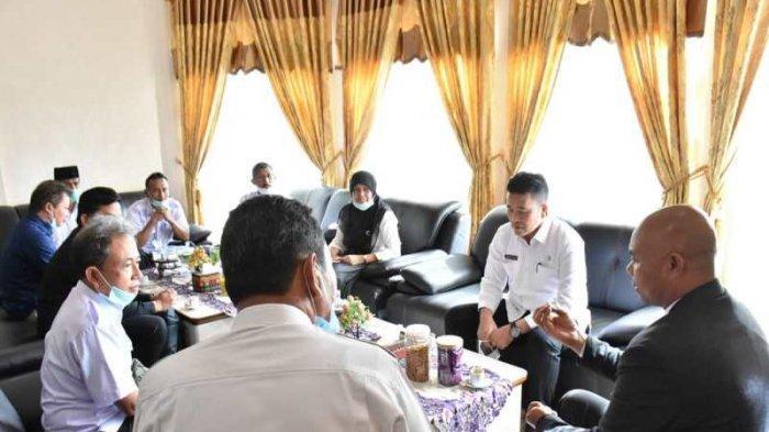 Tim BPKP Aceh Evaluasi Dana Desa di Bener Meriah, Minta Izin Plt Bupati Dailami