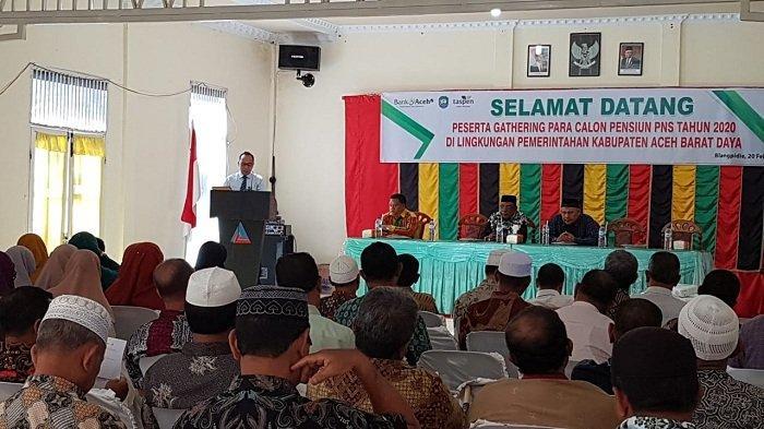 Bank Aceh Syariah Cabang Blangpidie Siapkan Layanan Khusus untuk Calon Pensiunan PNS