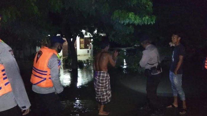 Brimob Kompi 2 Batalyon B Pelopor Dirikan Posko di Lokasi Banjir Aceh Tamiang