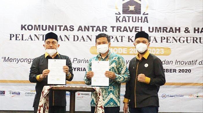 BRINS Aceh Syariah teken MoU dengan KATUHA Aceh