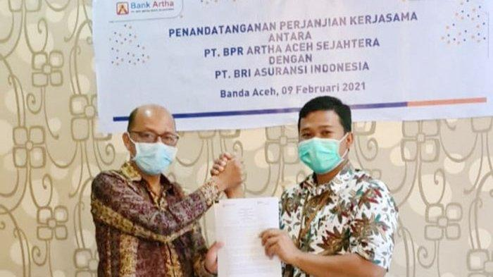 Perluas Pasar, BRI Insurance Aceh Syariah Jalin Kerjasama dengan BPR Artha Aceh Sejahtera