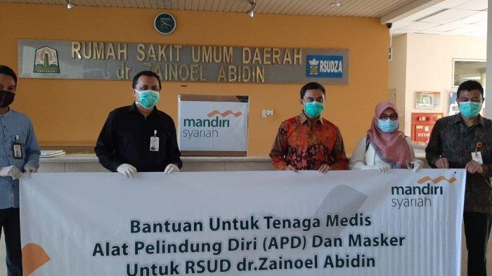 BSM Serahkan APD untuk Rumah Sakit di Aceh