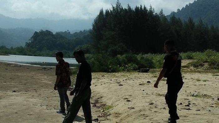 BPBD Aceh Besar dan BKSDA Respon Laporan Warga Terkait Penampakan Buaya di Lhoong