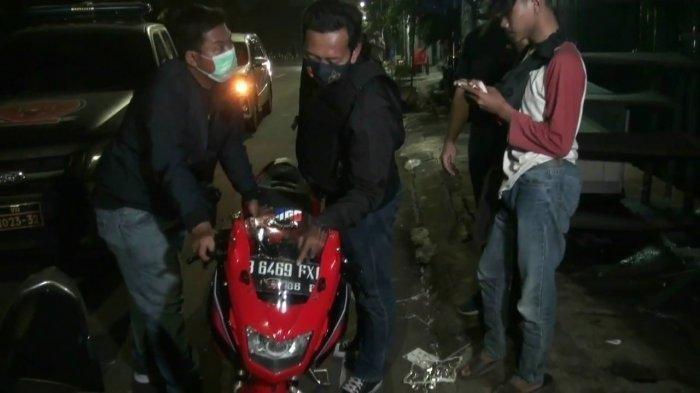 Bubarkan Balapan Liar, Polisi Lepaskan Tembakan Peringatan