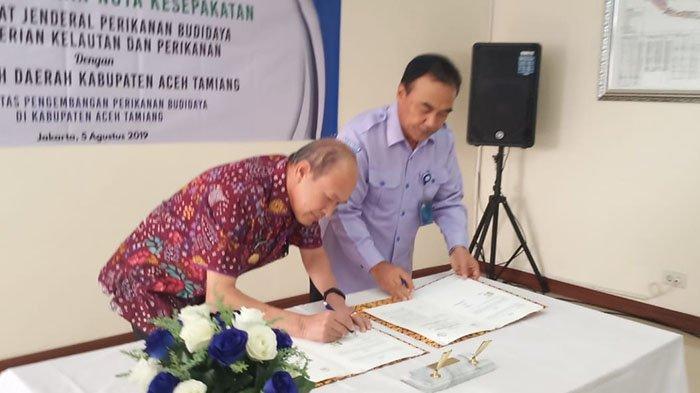 Kementerian Kelautan dan Perikanan Akan Bawa Investor ke Aceh Tamiang