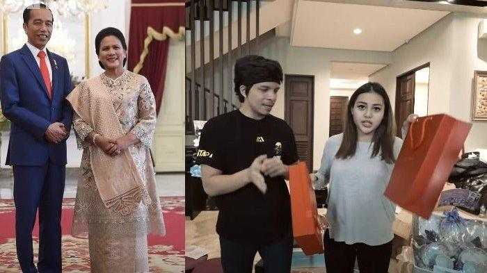 Buka Kotak Oranye Kado Pernikahan dari Jokowi dan Iriana, Atta Aurel Terkejut Lihat Bahan Ini
