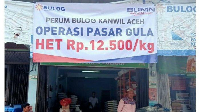 Tekan Harga Gula Pasir, Bulog Gelar Operasi Pasar di Halaman Kantor