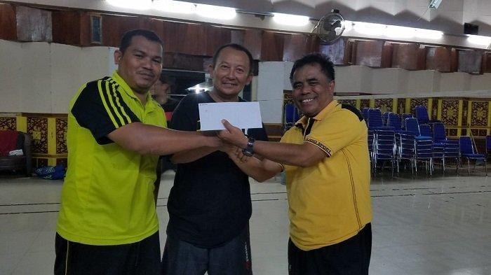 Kejutan, Pasangan Imran Joni/Saifullah Rajai Ramadhan Cup yang Digelar Siwo PWI Aceh