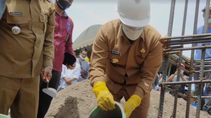 Bupati Letakkan Batu Pertama Pembangunan Meunasah Baitul Makmur Gampong Panton