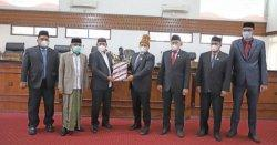 Bupati Aceh Besar Sampaikan Raqan Pertanggungjawaban APBK