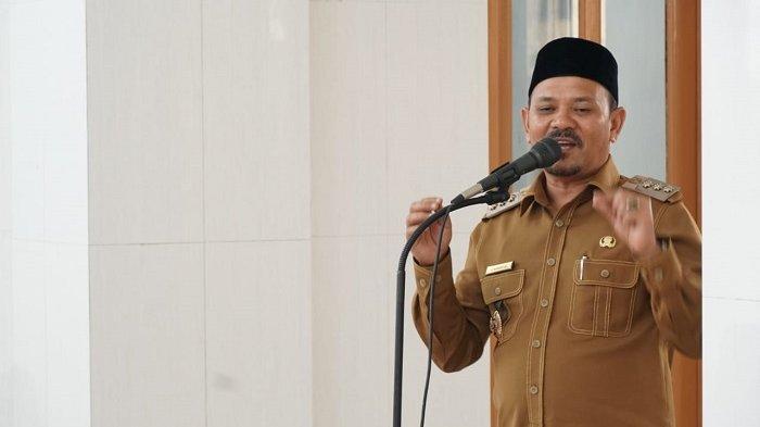 Penyerahan SK CPNS, Bupati Mawardi Ali Tegaskan 10 Tahun tak Boleh Pindah Tugas Keluar Aceh Besar