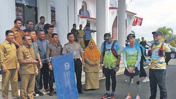 Lima Pelari Nasional Ikut Run To Care Aceh 2019, Dijamu Makan dan Istirahat di Kamar Wali Nanggroe