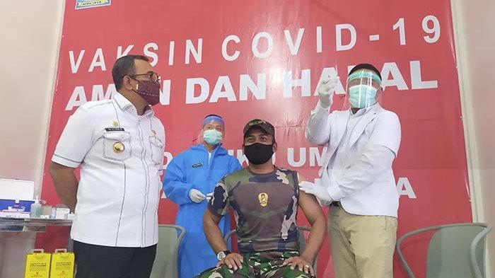 Dinkes Aceh Jaya Terima 190 Dosis Vaksin Tahap II, Ini Prioritasnya