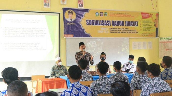 Ikhtiar Lawan Covid -19, Bupati Aceh Selatan Ajak Semua Pihak Sukseskan Vaksinasi