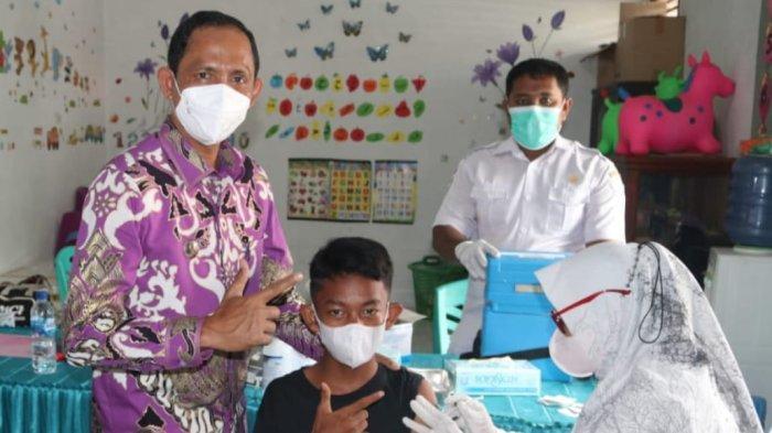 Bupati Aceh Selatan Pantau Langsung Pelaksanaan Vaksin di Labuhanhaji